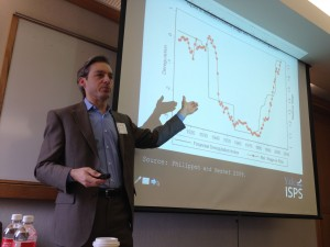 Yale political scientist Jacob Hacker, speaking at a conference on inequality.